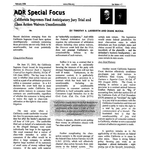 ADR Special Focus – sfvba.org