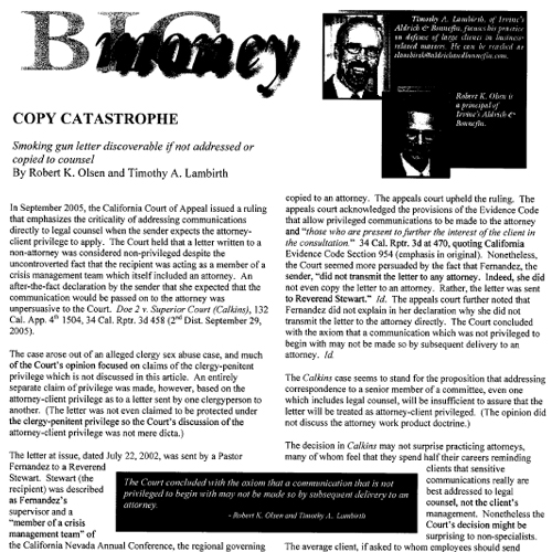 Copy Catastrophe – Big Money