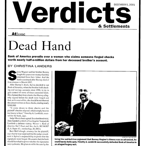 Dead Hand – Verdicts