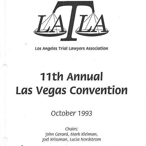 LATLA Las Vegas 1993